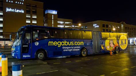 Glasgow Sleeper by File Megabus Sleeper Coach 51062 At Buchanan Station