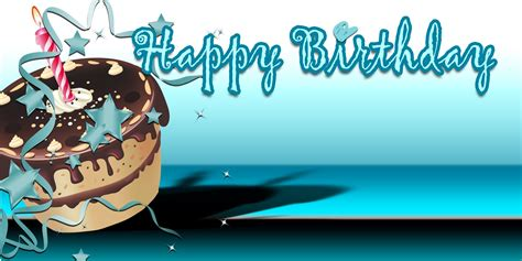 design happy birthday sign birthday banners cake teal