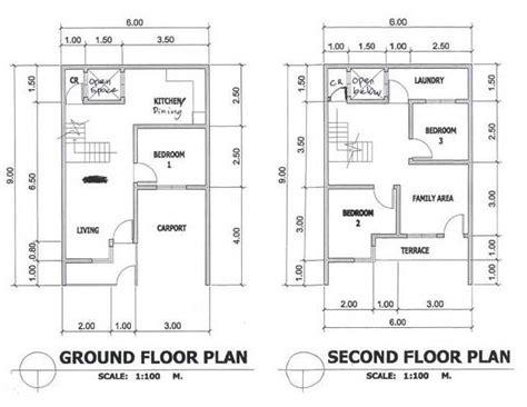 Amberwoods Subdivision Barangay Biasong Talisay City 54 Sqm House Plans