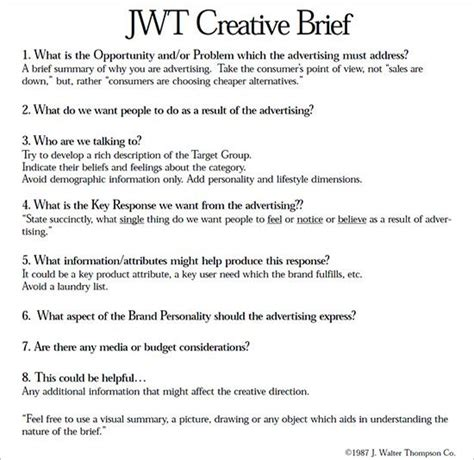 48 best writing a creative brief images on pinterest