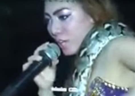 pop singer death pop singer dies on stage after being bitten by cobra