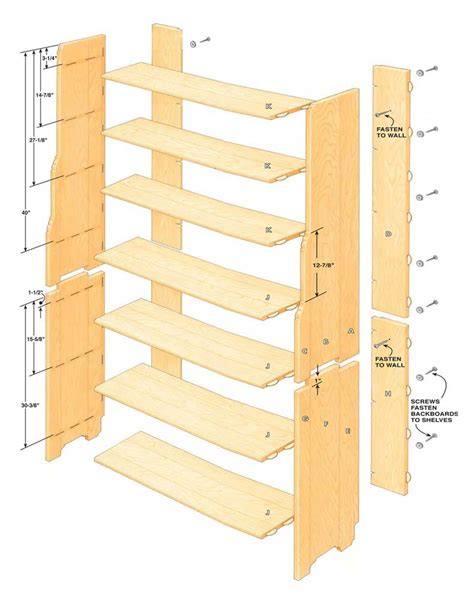 how to build a bookcase in a small workshop