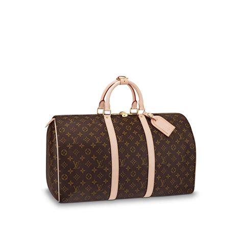 Louis Vuitton Shoe Bag by Keepall 50 Monogram Canvas Travel Louis Vuitton