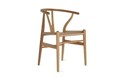 wishbone chair design within reach