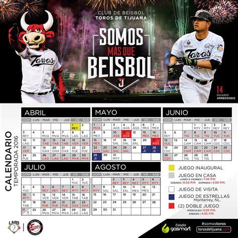 Calendario De Juegos Calendario De Juegos Equipo Toros De Tijuana Agp