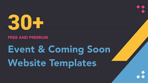 comming soon template 30 best free event and coming soon bootstrap templates 2018