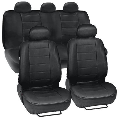 upholstery seat covers prosyn black leather auto seat covers for chevrolet cruze