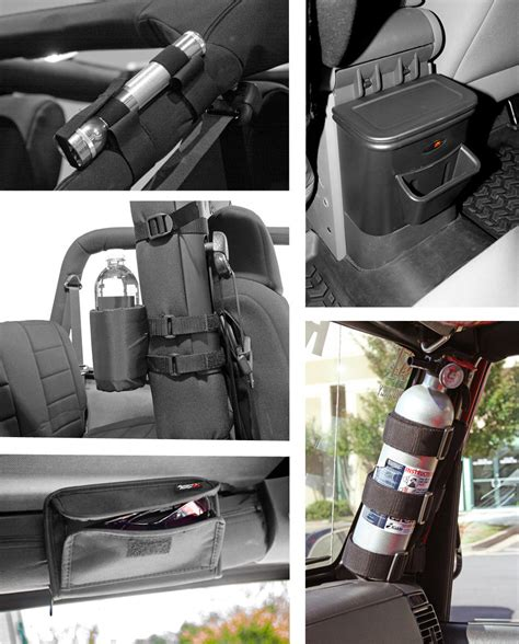 Jeep Wrangler Interior Storage by Rugged Ridge 12496 15 5 Interior Storage Kit In