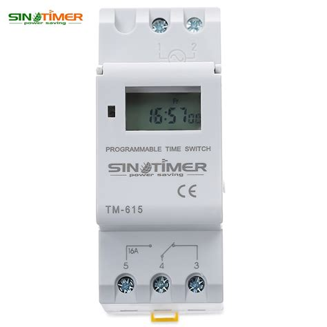 Timer Digital Original 220v Ac16 sinotimer brand microcomputer electronic programmable digital timer switch time relay