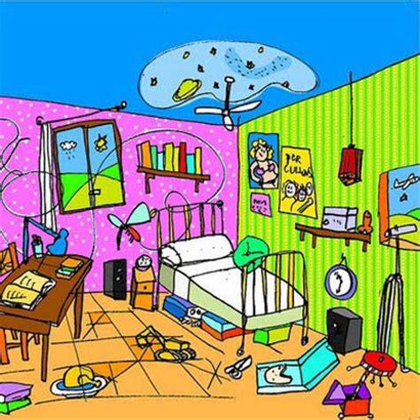 cuarto ordenado la habitaci 243 n desordenada cuentos infantiles