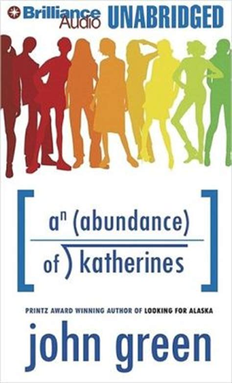 an abundance of katherines series 1 an abundance of katherines by green 9781423324508