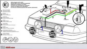 hella 500 fog lights wiring diagram get free image about
