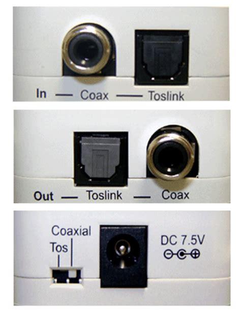 Kabel Audio Input 2 Port 2 way digital audio converter optical toslink coax