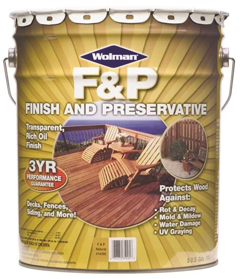 fp  oil based wood preservative  gal container