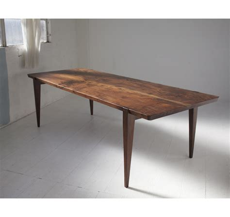 Walnut Dining Table   MidCentury Modern   Handcrafted