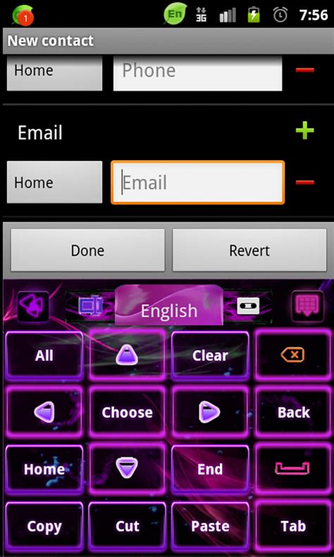 themes go keyboard go keyboard purple flame theme free android app android