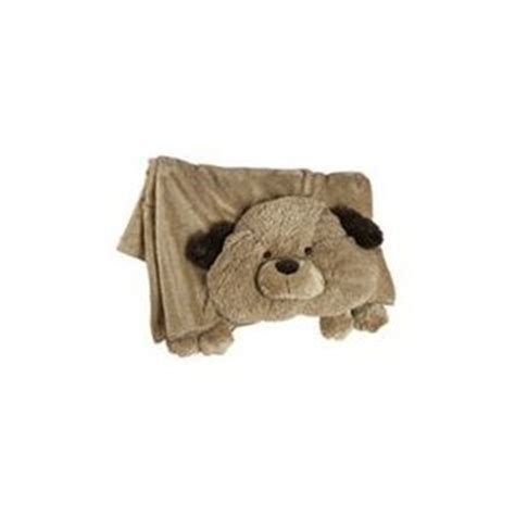 Pillow Pet Blankets by The Original Pillow Pets Blanket Brown