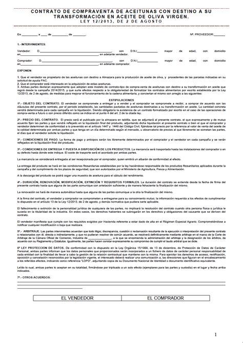 modelo privado contrato compraventa coches motos modelo de contrato privado 94 modelo contrato de compra