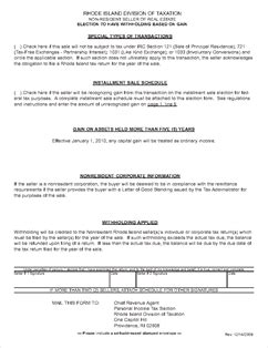 irc section 721 form 71 3 nr nonresident election of gain for closings on