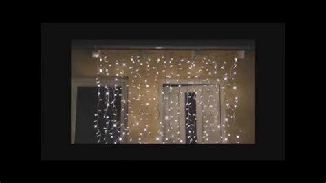 lichterkette vorhang mega snowmotion eiszapfen led lichterkette vorhang