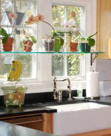 kitchen window shelf ideas kitchen