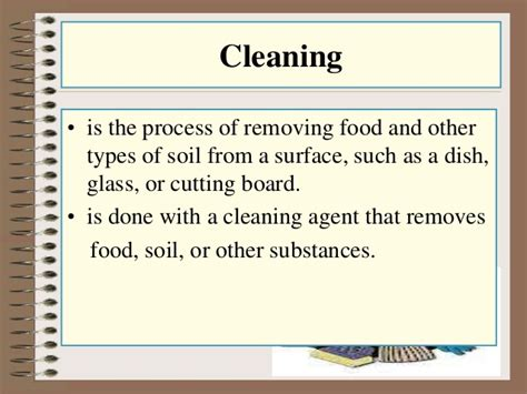 cleaning meaning cleaning and sanitizing