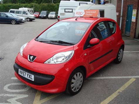 red peugeot for sale used red peugeot 107 for sale devon
