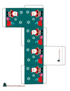 free printable christmas gift boxes