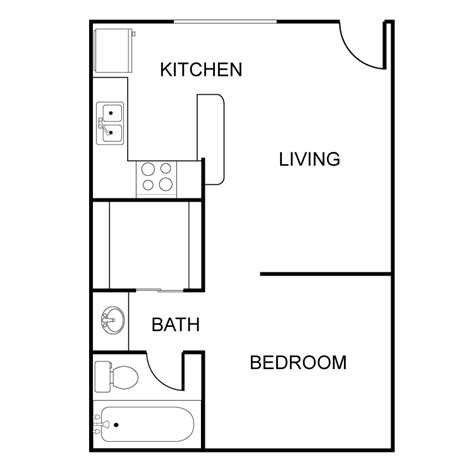 1 bed 1 bath condo floor plan student apartments types of apartments in nyc streeteasy