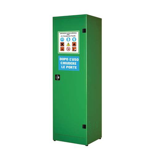 armadio per armadio per fitosanitari e pesticidi ad un anta h1850