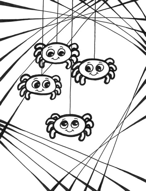 coloring pages websites free incy wincy spider sheets coloring pages