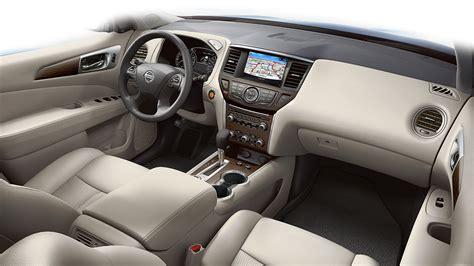 nissan pathfinder 2017 interior 2018 nissan pathfinder features nissan canada