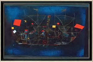 Painting For Home Interior quot the adventure ship quot by p klee reproduction framed