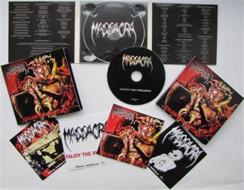 Massacra Enjoy The Violence massacra enjoy the violence cd album at discogs