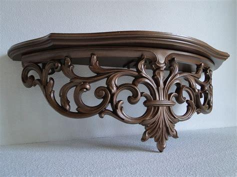 Vintage Ornate Shelf by Large Shelf Ornate Baroque Regency