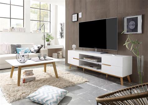 mobile per soggiorno moderno alce porta tv bianco opaco e rovere mobile soggiorno moderno
