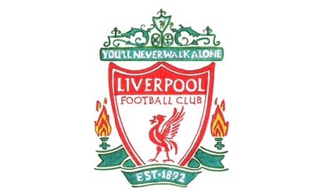 Liverpool Logo how to draw the liverpool logo fc