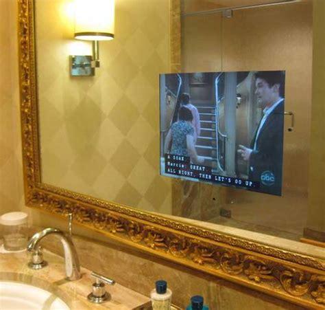 tv mirror bathroom pictures of trump hotel las vegas trump hotel las vegas
