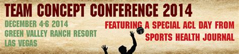 Sports Pt Section by Sports Physical Therapy Section Team Concept Conference