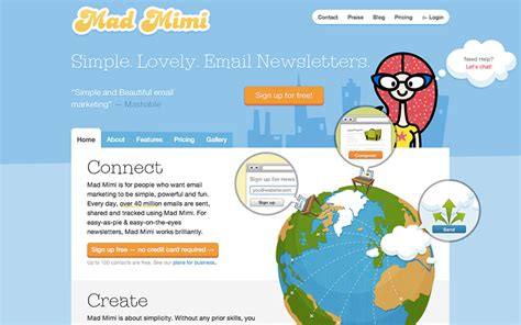 Mad Mimi Templates by Alternatives To Mailchimp