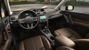 Subaru Inside 2017 Subaru Forester Priced From 22 595