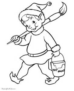 Pictures Of Santa To Color For Kids » Home Design 2017