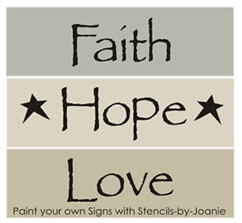 free printable home decor stencils 3 primitive stencils faith hope love stars family home