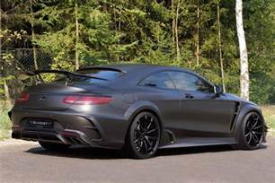 Mercedes S Class Coupe Amg Official 1000hp Mansory Mercedes S63 Amg Coupe Black