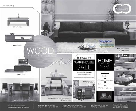 Promo Sofa Cellini cellini furniture warehouse sale 20 21 aug 2011