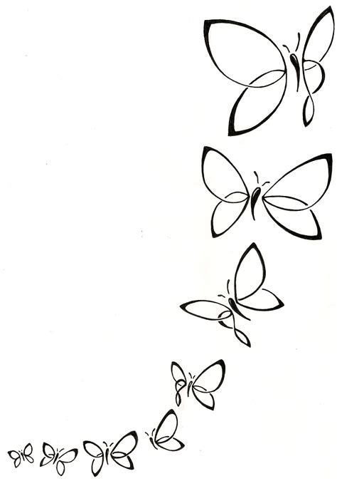 butterfly tattoo designs black and white foot to ankle feminine butterfly feminine