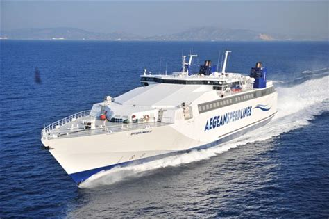 traghetti interni grecia traghetti veloci per le isole cicladi aegean speed lines