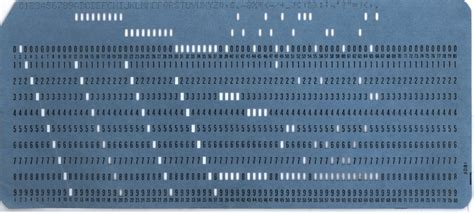 how to make punch cards the history of computer storage slideshow page 2 of 9