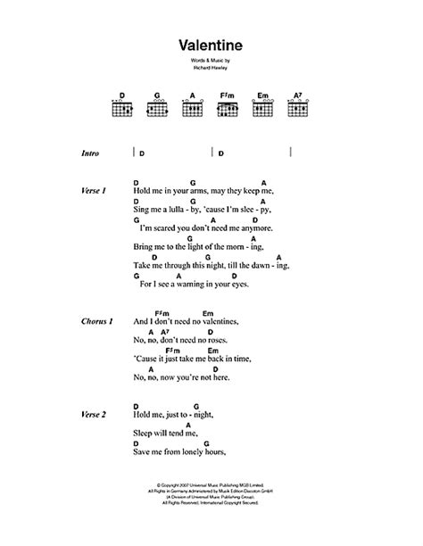 lyrics hawley sheet by richard hawley lyrics chords