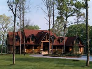 Luxury Log Homes Floor Plans by Luxury Home Designs Luxury Log Home Plans Wide Lawn Yard